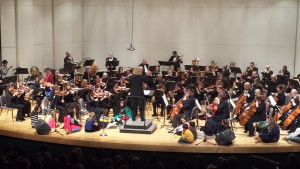 Orch with children on stage